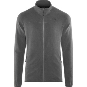 The North Face 100 Glacier Giacca con zip intera Uomo, tnf dark grey heather